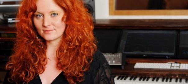 Martina Eisenreich in ihrem Studio, 2012.