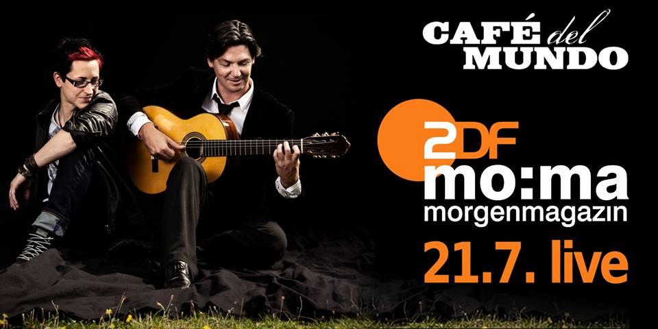 Cafe del mundo im ZDF Morgenmagazin