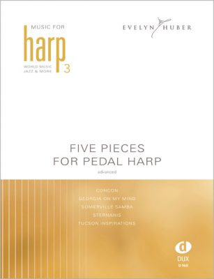 Five Pieces for Pedal Harp 3
