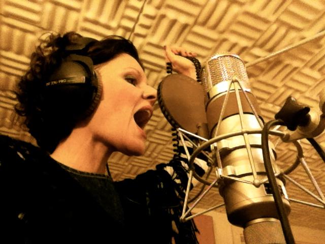 Stefanie Boltz im Studio!